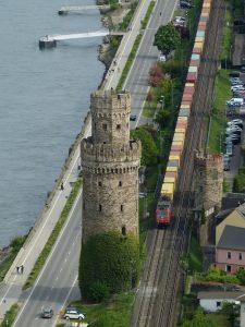 Güterzug in Oberwesel